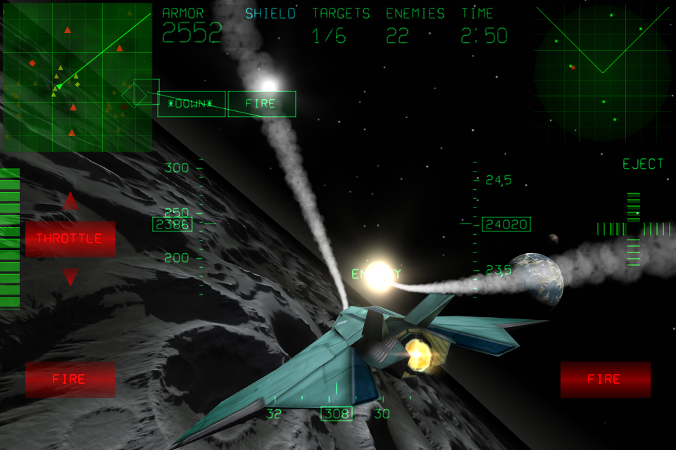Screenshot Fractal Combat