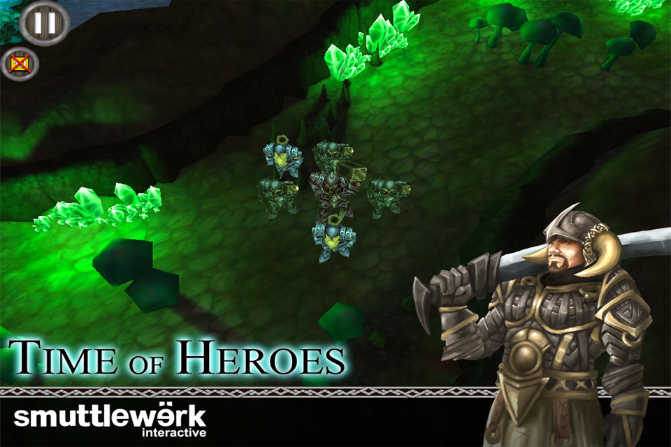 Free Time of Heroes iPhone Game